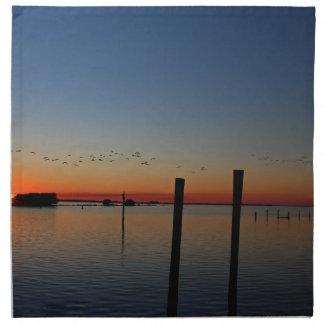 Sunset Migration Napkin