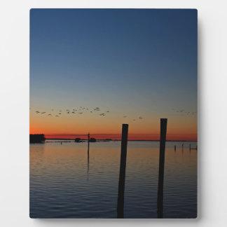 Sunset Migration Plaque