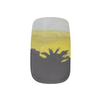 Sunset Minx Nail Art