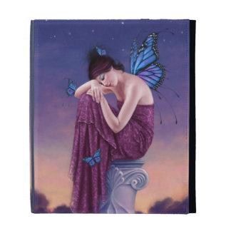 Sunset Monarch Butterfly Fairy iPad Folio Case