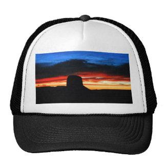 Sunset, Monument Valley, UT Cap
