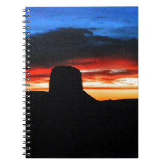 Sunset, Monument Valley, UT Notebook