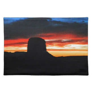 Sunset, Monument Valley, UT Placemat