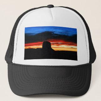 Sunset, Monument Valley, UT Trucker Hat