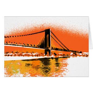 Sunset Narrows Bridge card