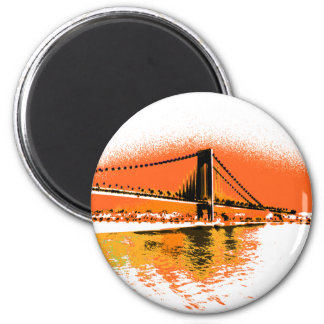 Sunset Narrows Bridge magnet