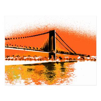 Sunset Narrows Bridge postcard