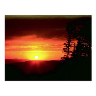 Sunset near Cedar Breaks National Monument, Brian Post Card