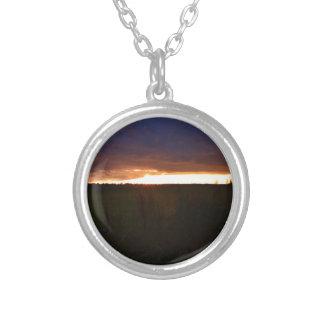 Sunset Near Southwold Custom Necklace