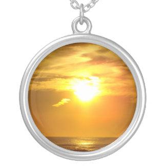 sunset custom necklace