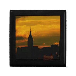 Sunset New York City Jewelry Boxes