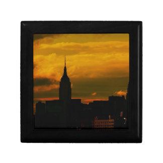 Sunset New York City Jewelry Boxes