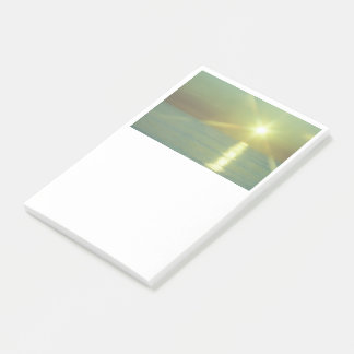 Sunset Ocean Post-it Notes, 4 x 6 Post-it Notes