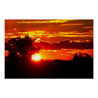 Sunset of Fire Poster