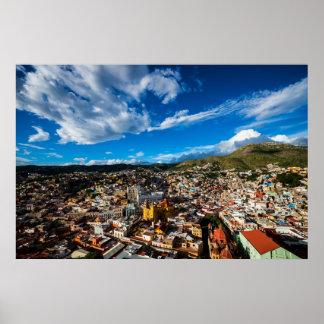 Sunset Of Guanajuato Poster