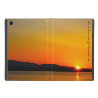 Sunset of the lake covers for iPad mini