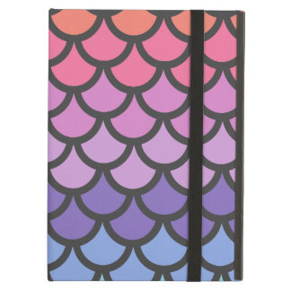 Sunset Ombre Mermaid Scales iPad Air Cover