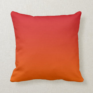 Sunset Ombre Throw Pillow