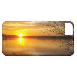 Sunset On A Lake iPhone 5C Case