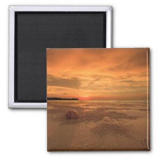 Sunset On A Thai Beach Magnet