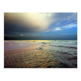 Sunset on an Anna Maria Beach Postcard