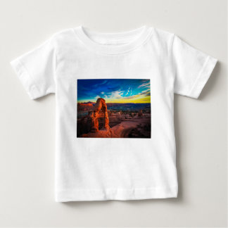 Sunset On Arches Park Baby T-Shirt