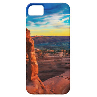 Sunset On Arches Park Case For The iPhone 5