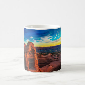 Sunset On Arches Park Coffee Mug