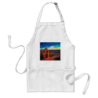 Sunset On Arches Park Standard Apron