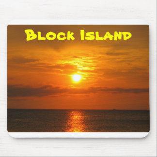 Sunset on Block Island Mouse Pad