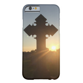Sunset on Cross Barely There iPhone 6 Case