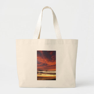 Sunset on Fort Myers Beach Tote Bags
