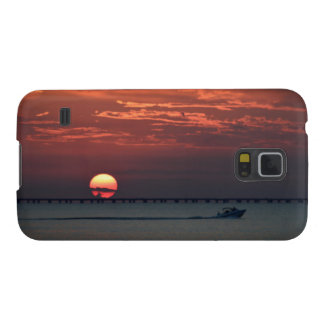 Sunset on Lake -   Samsung Galaxy S5 Case For Galaxy S5