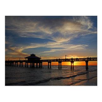 Sunset on My Shoulders Postcard