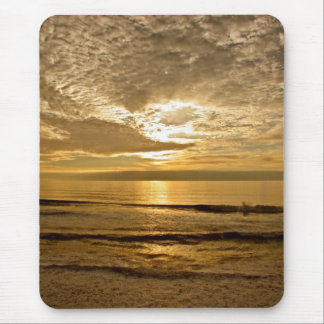 SUNSET ON NORTHERN CALIFORNIA COAST MOUSE PAD