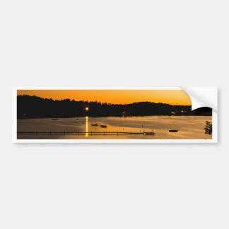 Sunset on Pickerel Lake Bumper Sticker