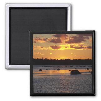 Sunset on Taunton Bay Magnet