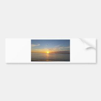 Sunset on Thanksgiving. Bumper Sticker