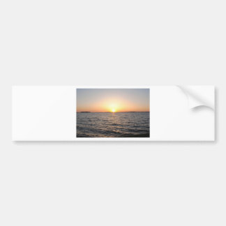 Sunset on the Bay Bumper Sticker