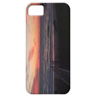 Sunset on the beach iPhone 5 case