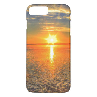 Sunset on the beach iPhone 7 plus case