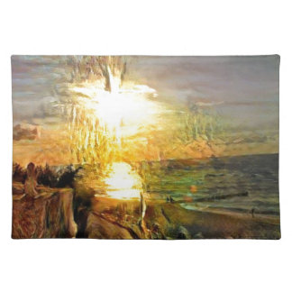Sunset on the Beach Placemat