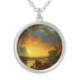 Sunset on the California Coast Necklace