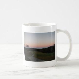 Sunset on the Golf course at Lake Arrowhead Mug