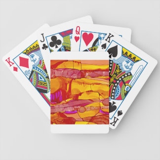 Sunset on the Horizon Bicycle Playing Cards