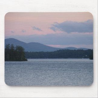 Sunset on the Lake 2 Mousepads