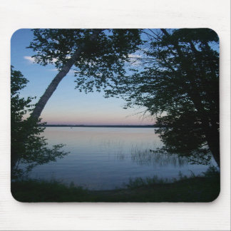 Sunset on the Lake Mouse Pad