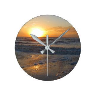 Sunset on the Ocean Clocks