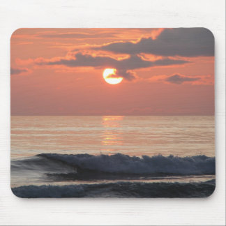 Sunset on the Oregon Coast Mouse Pad