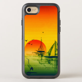 Sunset On the Orient OtterBox Symmetry iPhone 8/7 Case